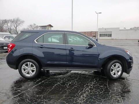 2017 Chevrolet Equinox for sale at Hawk Chevrolet of Bridgeview in Bridgeview IL