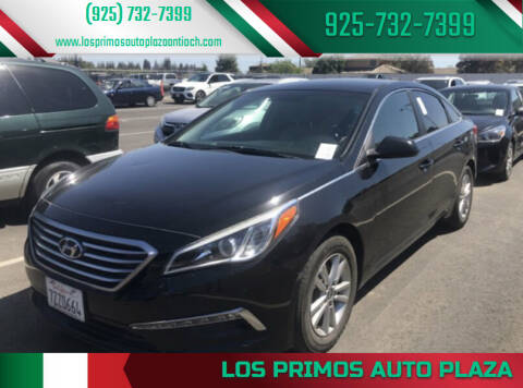 2015 Hyundai Sonata for sale at Los Primos Auto Plaza in Antioch CA