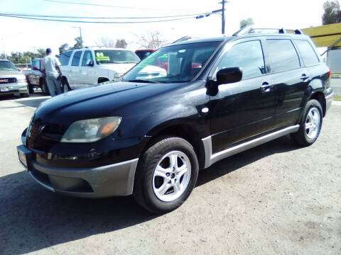 2003 Mitsubishi Outlander for sale at Larry's Auto Sales Inc. in Fresno CA