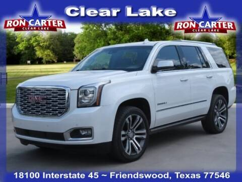 2019 GMC Yukon for sale at Ron Carter  Clear Lake Used Cars in Houston TX
