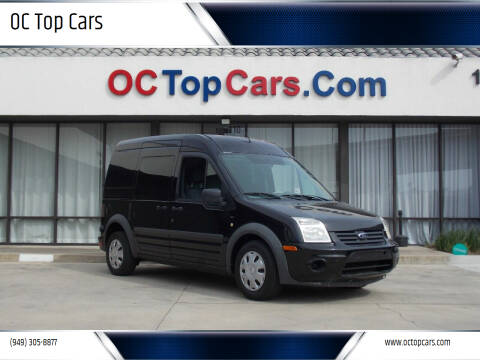 2012 Ford Transit Connect for sale at OC Top Cars in Irvine CA
