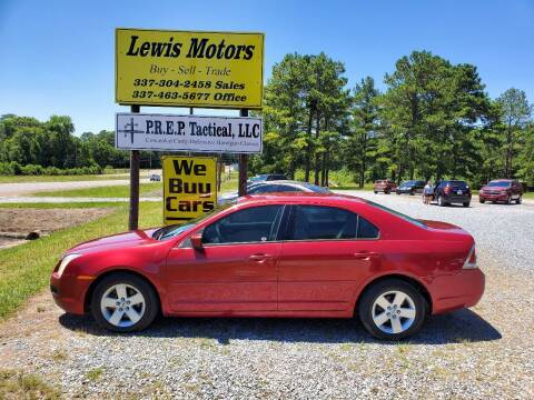 2007 Ford Fusion for sale at Lewis Motors LLC in Deridder LA