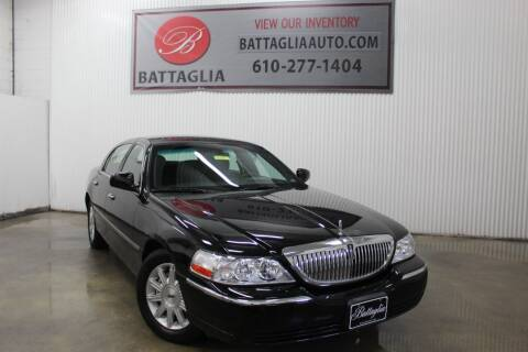2009 Lincoln Town Car for sale at Battaglia Auto Sales in Plymouth Meeting PA