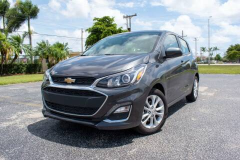 2021 Chevrolet Spark for sale at Guru Auto Sales in Miramar FL