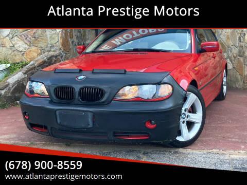 2004 BMW 3 Series for sale at Atlanta Prestige Motors in Decatur GA