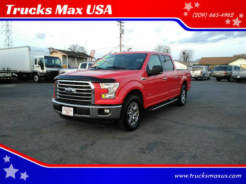 2015 Ford F-150 for sale at Trucks Max USA in Manteca CA