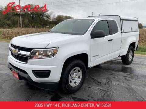 2017 Chevrolet Colorado for sale at Jones Chevrolet Buick Cadillac in Richland Center WI