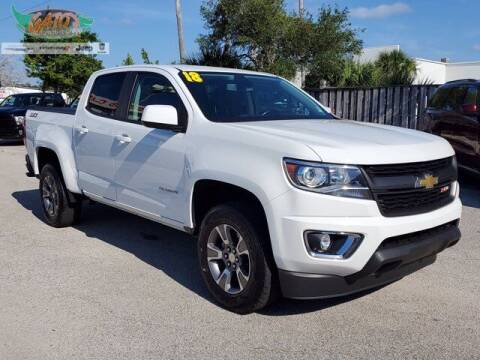 2018 Chevrolet Colorado for sale at GATOR'S IMPORT SUPERSTORE in Melbourne FL