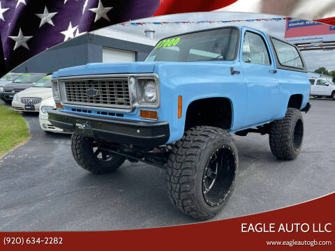 1976 Chevrolet Blazer for sale at Eagle Auto LLC in Green Bay WI