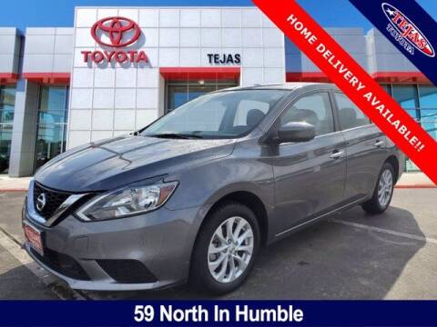 2018 Nissan Sentra for sale at TEJAS TOYOTA in Humble TX