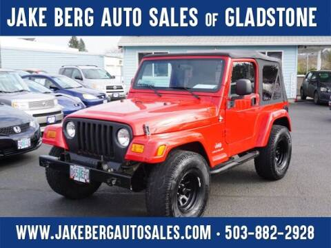 2005 Jeep Wrangler for sale at Jake Berg Auto Sales in Gladstone OR