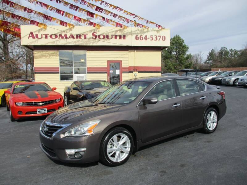 2014 Nissan Altima for sale at Automart South in Alabaster AL