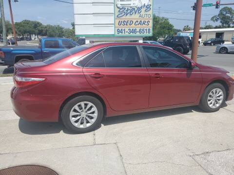 2016 Toyota Camry for sale at Steve's Auto Sales in Sarasota FL
