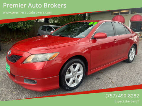 2009 Toyota Camry for sale at Premier Auto Brokers in Virginia Beach VA