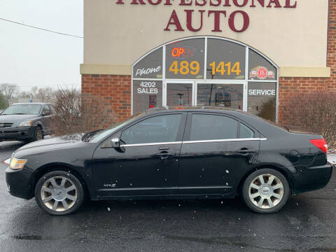 2007 Lincoln MKZ for sale at Professional Auto Sales & Service in Fort Wayne IN