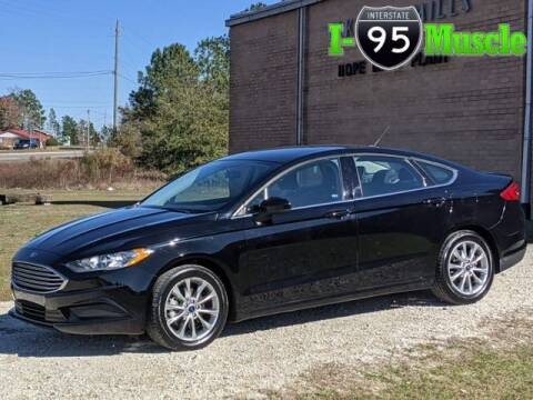 2017 Ford Fusion for sale at I-95 Muscle in Hope Mills NC