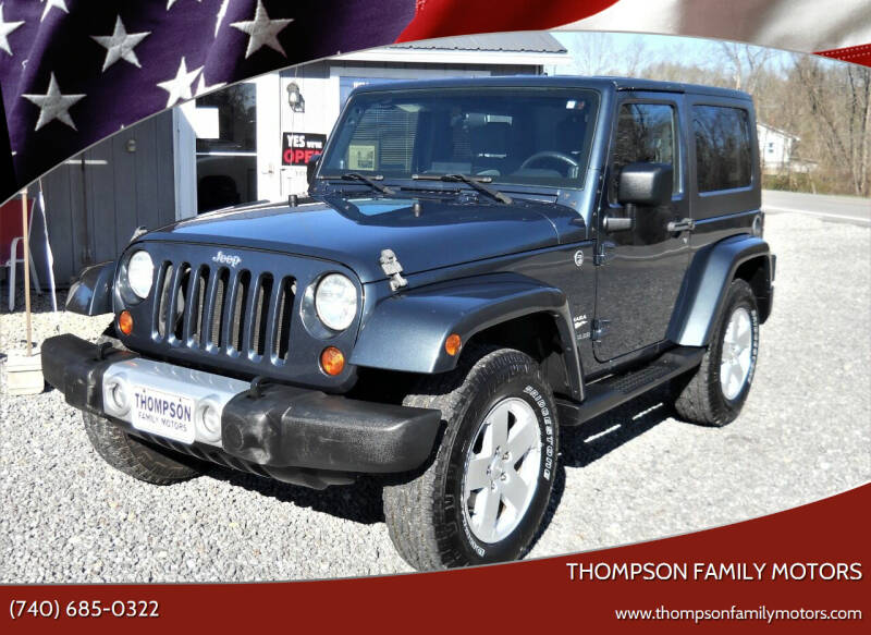 2008 Jeep Wrangler for sale at THOMPSON FAMILY MOTORS in Senecaville OH