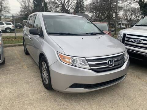 2011 Honda Odyssey for sale at Martell Auto Sales Inc in Warren MI