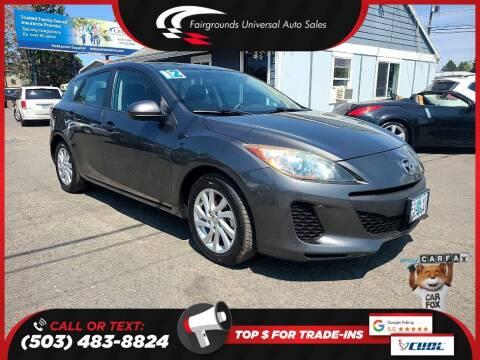 2012 Mazda MAZDA3 for sale at Universal Auto Sales in Salem OR