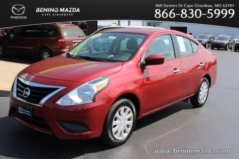 2018 Nissan Versa for sale at Bening Mazda in Cape Girardeau MO