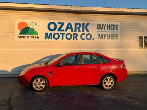 2008 Ford Focus for sale at OZARK MOTOR CO in Springfield MO