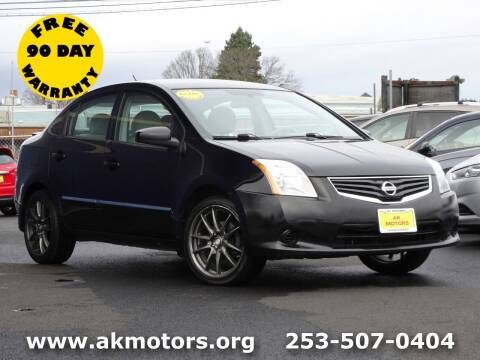 2011 Nissan Sentra for sale at AK Motors in Tacoma WA