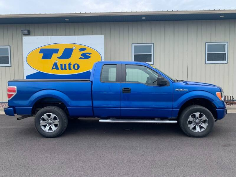 2014 Ford F-150 for sale at TJ's Auto in Wisconsin Rapids WI