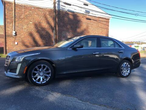 2015 Cadillac CTS for sale at Jim's Hometown Auto Sales LLC in Byesville OH