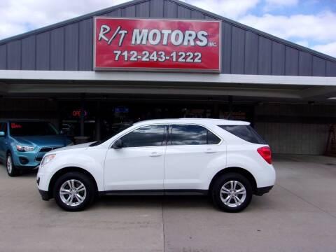 2012 Chevrolet Equinox for sale at RT Motors Inc in Atlantic IA