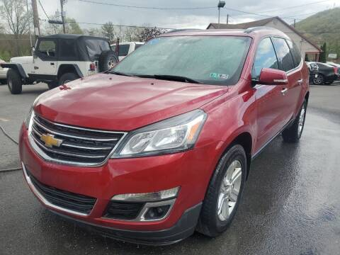 2014 Chevrolet Traverse for sale at Mulligan's Auto Exchange LLC in Paxinos PA
