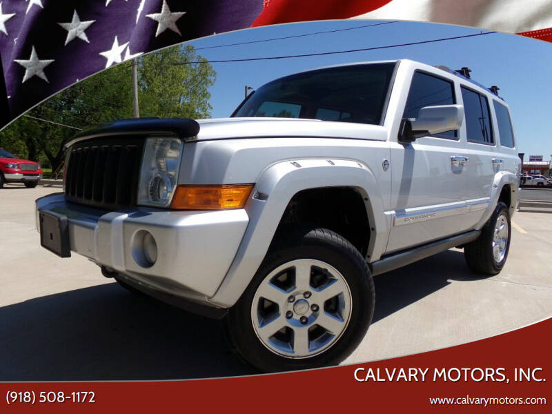 2008 Jeep Commander for sale at Calvary Motors, Inc. in Bixby OK