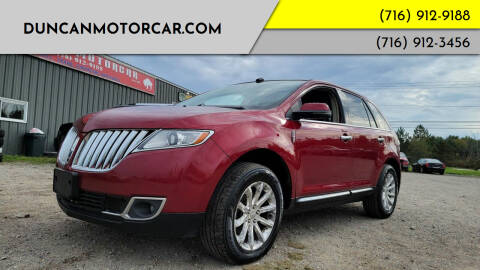 2013 Lincoln MKX for sale at DuncanMotorcar.com in Buffalo NY