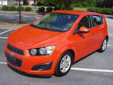 2012 Chevrolet Sonic for sale at Uniworld Auto Sales LLC. in Greensboro NC