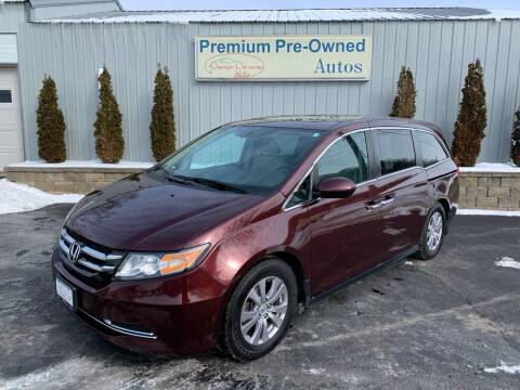 2014 Honda Odyssey for sale at PREMIUM PRE-OWNED AUTOS in East Peoria IL