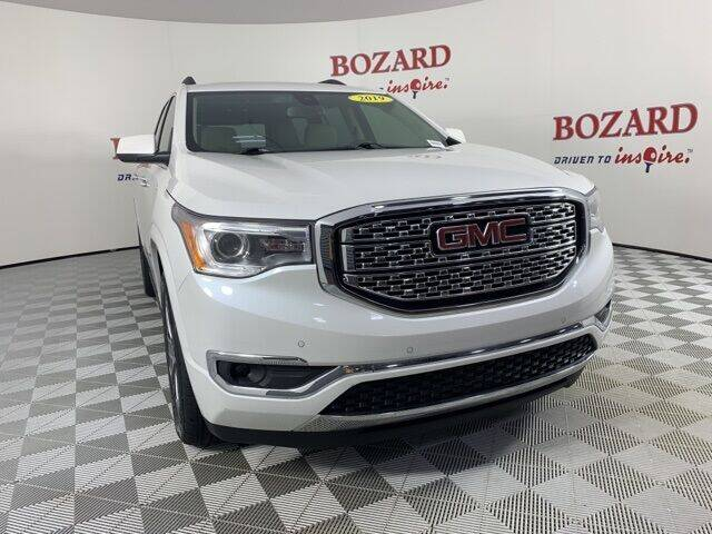 2019 GMC Acadia for sale at BOZARD FORD in Saint Augustine FL
