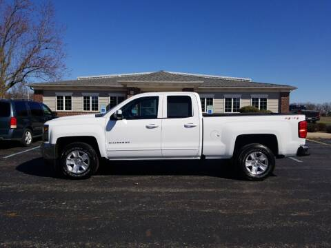 2017 Chevrolet Silverado 1500 for sale at Pierce Automotive, Inc. in Antwerp OH