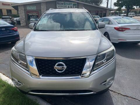 2014 Nissan Pathfinder for sale at New Start Auto in Richardson TX