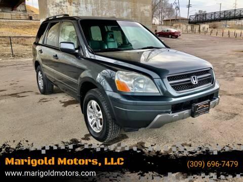 2005 Honda Pilot for sale at Marigold Motors, LLC in Pekin IL