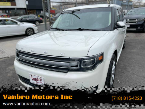 2014 Ford Flex for sale at Vanbro Motors Inc in Staten Island NY