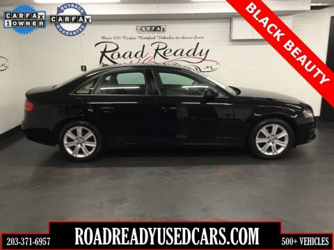 2010 Audi A4 for sale at Road Ready Used Cars in Ansonia CT