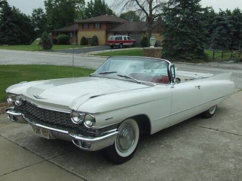 1960 Cadillac DeVille for sale at Classic Car Deals in Cadillac MI