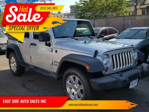 2012 Jeep Wrangler Unlimited for sale at EAST SIDE AUTO SALES INC in Paterson NJ