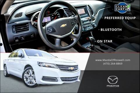 2015 Chevrolet Impala for sale at Mazda Of Roswell in Roswell GA