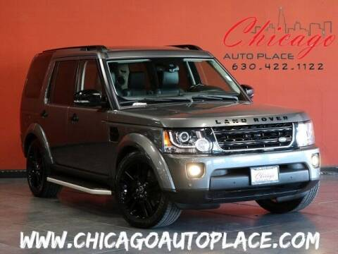 2016 Land Rover LR4 for sale at Chicago Auto Place in Bensenville IL