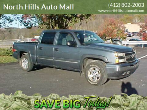 2006 Chevrolet Silverado 1500 for sale at North Hills Auto Mall in Pittsburgh PA
