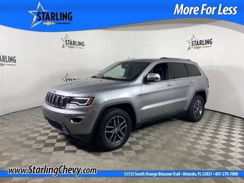 2017 Jeep Grand Cherokee for sale at Pedro @ Starling Chevrolet in Orlando FL