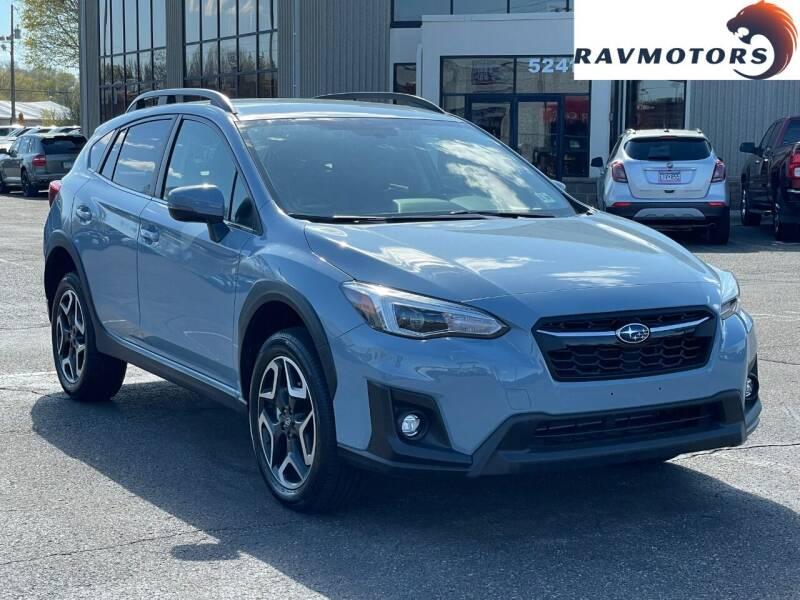 2020 Subaru Crosstrek for sale at RAVMOTORS 2 in Crystal MN