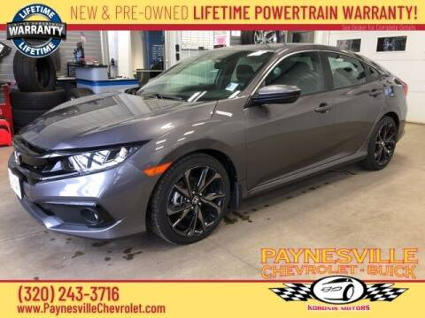 2020 Honda Civic for sale at Paynesville Chevrolet - Buick in Paynesville MN