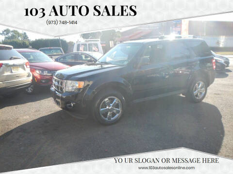 2011 Ford Escape for sale at 103 Auto Sales in Bloomfield NJ
