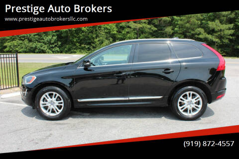 2015 Volvo XC60 for sale at Prestige Auto Brokers in Raleigh NC